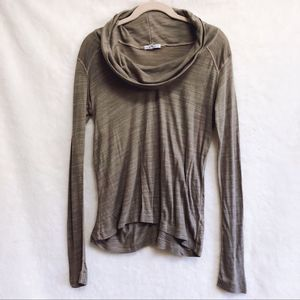 James Perse Turtle Neck Long Sleeve Top